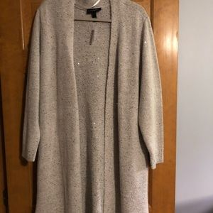 Lane Bryant long cardigan sweater
